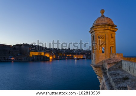 Grand Harbour in the Evening - Malta