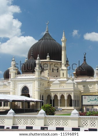 Grand Mosque in Asia