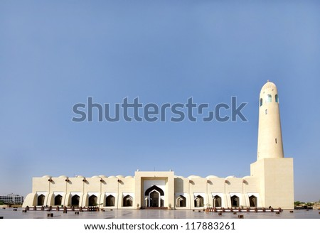Grand Mosque of Doha, Qatar, view from first level