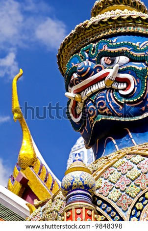 Grand Palace Guardian - Bangkok