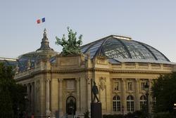 Grand Palais in Paris, France