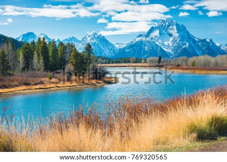 Grand Teton National Park, Wyoming, United States of America. #769320565