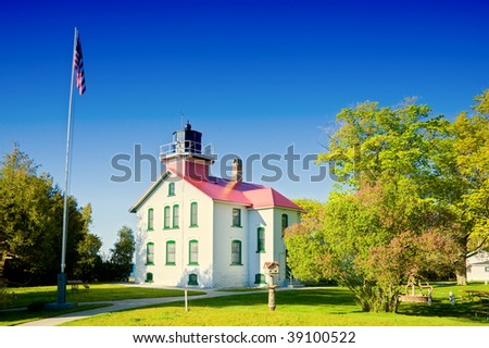 Grand Traverse Lighthouse in Michigan