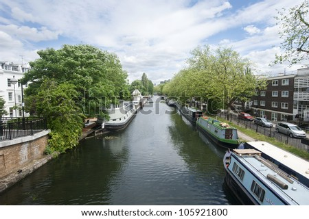 Grand Union Canal near Warwick Avenue, London