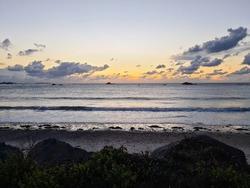 Grandes Rocques Beach Sunset, Guernsey Channel Islands