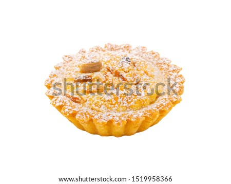 Grandma's Cake isolated on white background Stock fotó ©