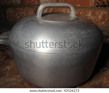 Grandma's Old Cooking Pot