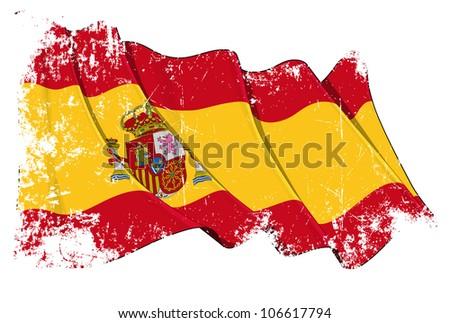 Grange Flag of Spain