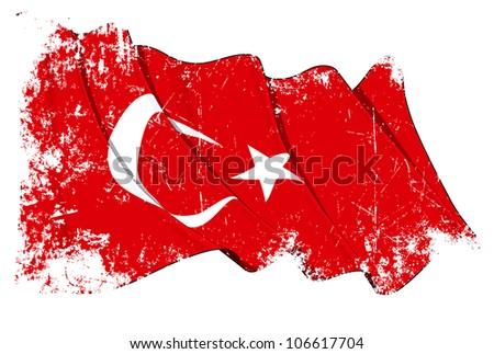 Grange Flag of Turkey