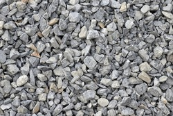 Granite gravel texture. Construction materials.