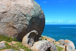 Granite Island in Victor Harbor in South Australia