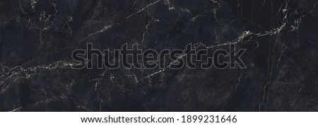 Granite Marble Background, Royal Black and Gold vain marble stone, natural pattern texture background and use for interiors tile, luxury design with high resolution, Modern floor or wall decoration. Stock photo ©