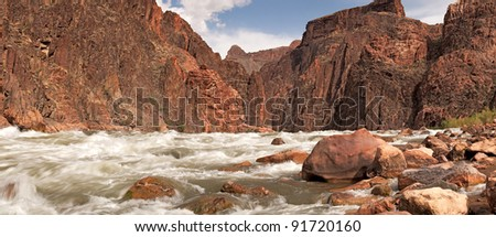 Granite Rapids in Grand Canyon National Park.