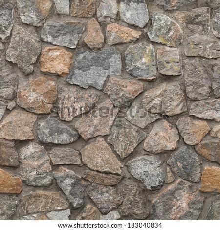 Granite Rubble 02 - stock photo