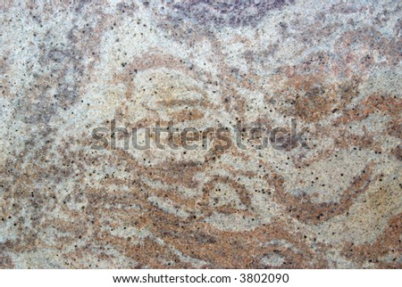 Granite slab - closeup background and texture