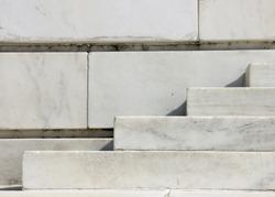 Granite steps and walls geometry