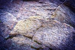 Granite stone . Rock. Granite background, samples of granite backgrounds, granite background with vignette.