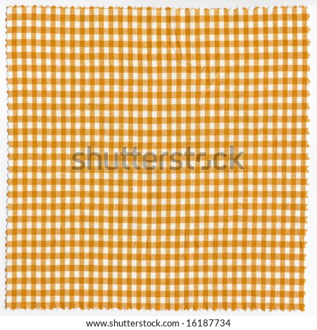 granny marmalade or jam checkered fabric cloth