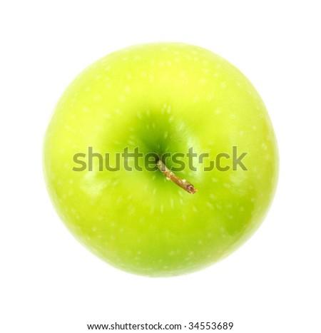Granny Smith apple top
