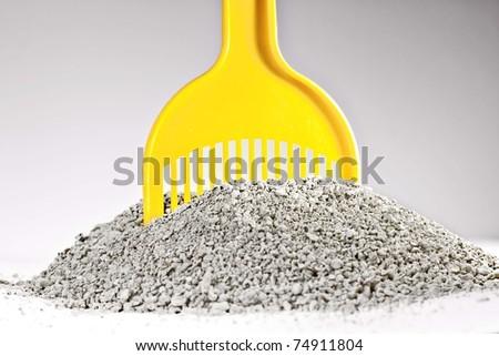 granular sand for animal toilet