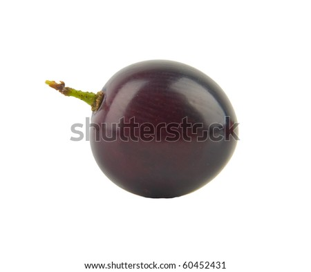 grape fruit isolated in whitebackground