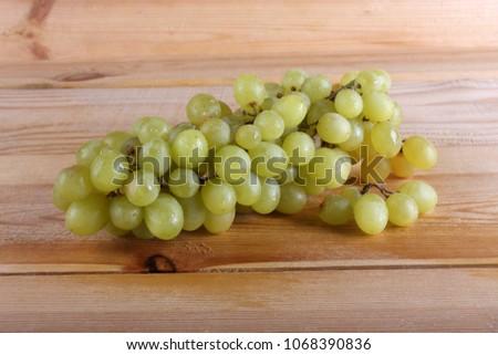 Grape on table #1068390836
