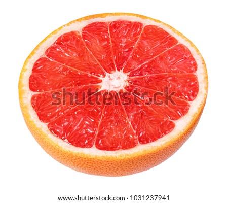 grapefruit isolated on white background #1031237941
