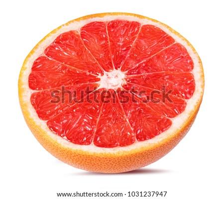 grapefruit isolated on white background #1031237947