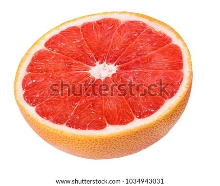 grapefruit isolated on white background #1034943031