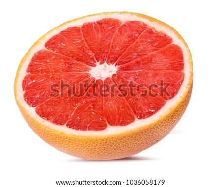 grapefruit isolated on white background #1036058179