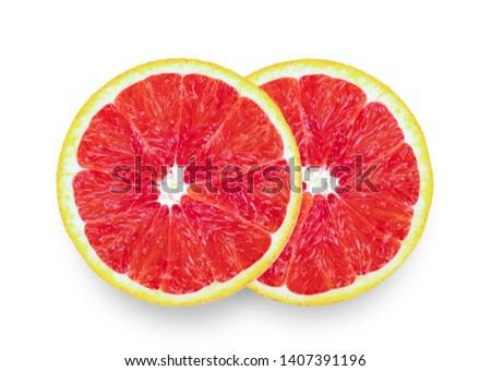 Grapefruit isolated on white background #1407391196