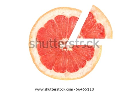 Grapefruit pizza