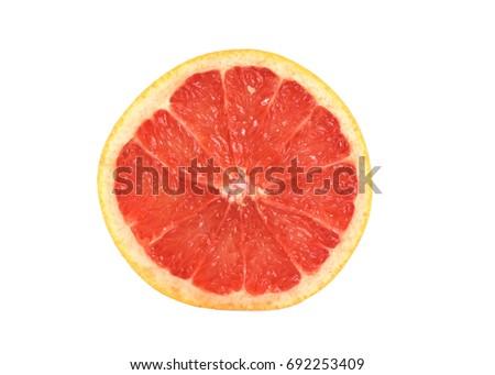 grapefruit slice #692253409