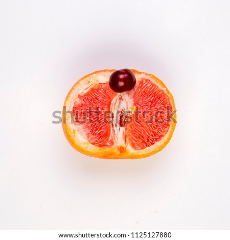 grapefruit, vagina symbol, sex concert