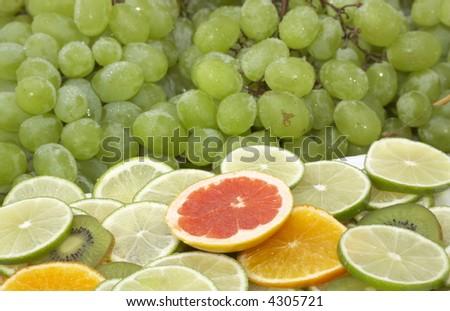 Grapes and Citrus Fruits