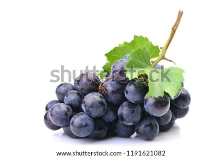 Grapes on a white background #1191621082