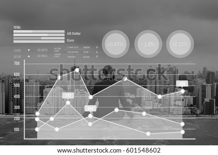 Graph Data Show Summary Analysis Icon Graphic #601548602