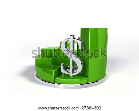Graph (dollar down)