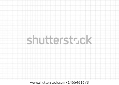 Graph paper,grid paper texture, grid sheet, abstract grid line,green straight lines on white background