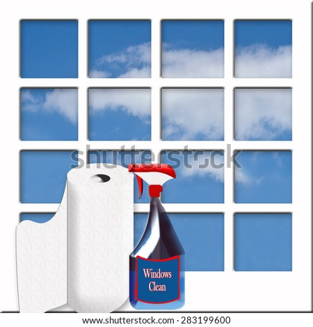Graphic Illustration Concept Of 39 Spring Cleaning 39 With