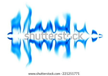 Graphic light blue on a white background.