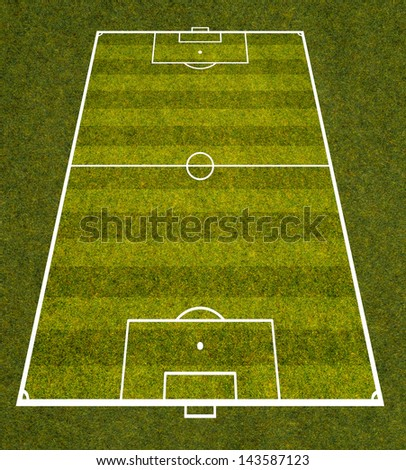 graphic of soccer field