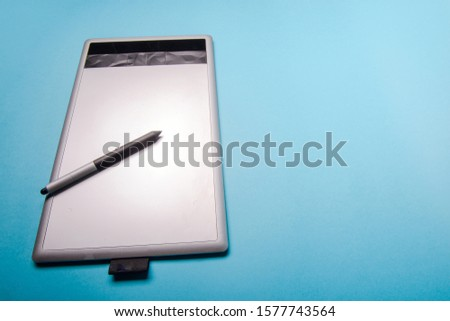 Graphic tablet with pen for illustrators and designers #1577743564