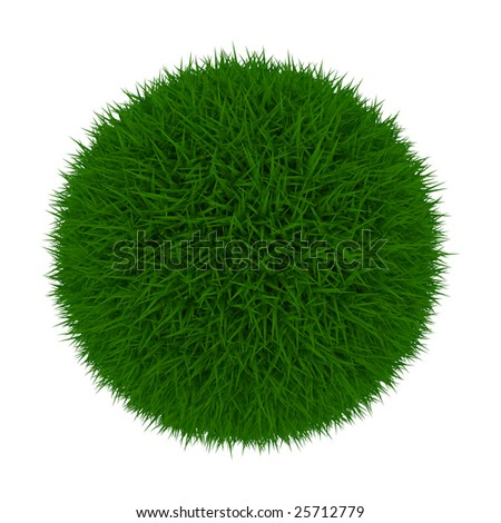 Grass Ball - stock photo