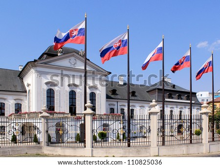 Grassalkovich Palace (Grasalkovicov Palac), Bratislava, Residence of the President of Slovakia