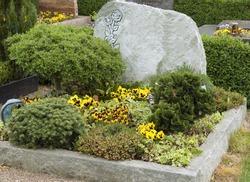 Grave design, grave stone