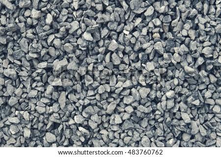 gravel / grit (3 - 6 mm) of glauconite sandstone, dark blue and cold color tone