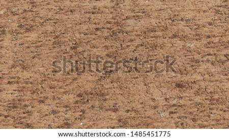 Gravel ground Soil surface, The clay surface is cut #1485451775