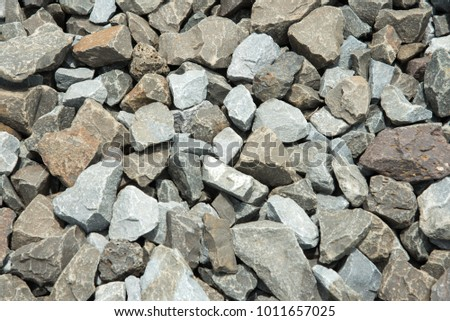 Gravel stones texture background.