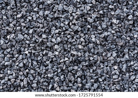 Photo of  Gravel texture or gravel background for design. Real grunge texture background and small stone